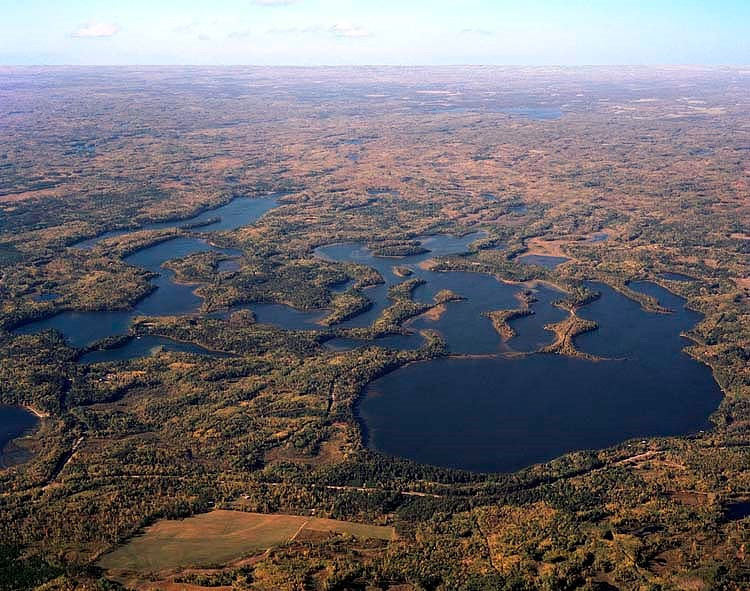 Big Mantrap Lake from the South